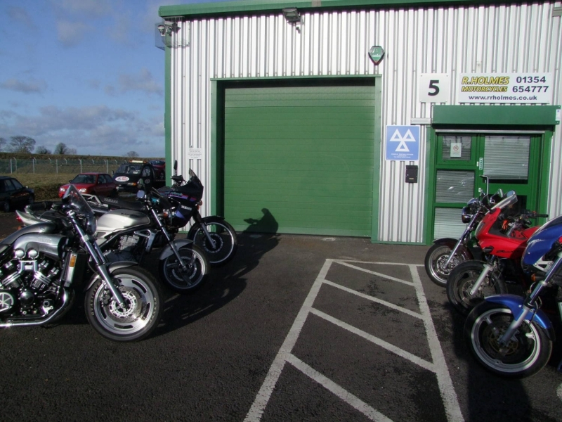 R Holmes Motorcycles March Cambs Service Repair Mot