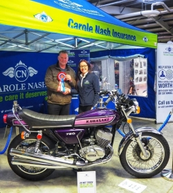 Award Winning Kawasaki 750 H2C Triple